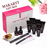 Makartt Upgrade Poly Nail Gel Kit Nail Builder