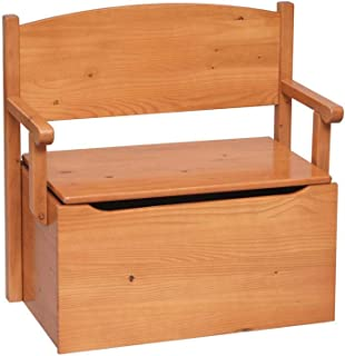product image for Little Colorado Bench Toy Box - Honey Oak
