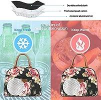 Amazon.com: Hekate - Bolsa térmica de almuerzo para mujeres ...