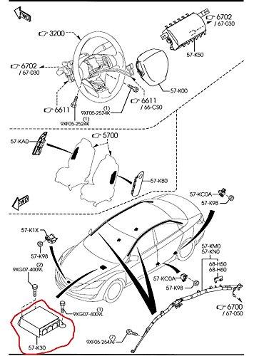 airbag impact sensor wiring harness