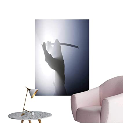 Wall Decals A Real Ninja Shot on a Smoke Filled Room and ...