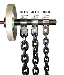 Ader Fitness Weight Lifting Chain - 45lbs w/Collar