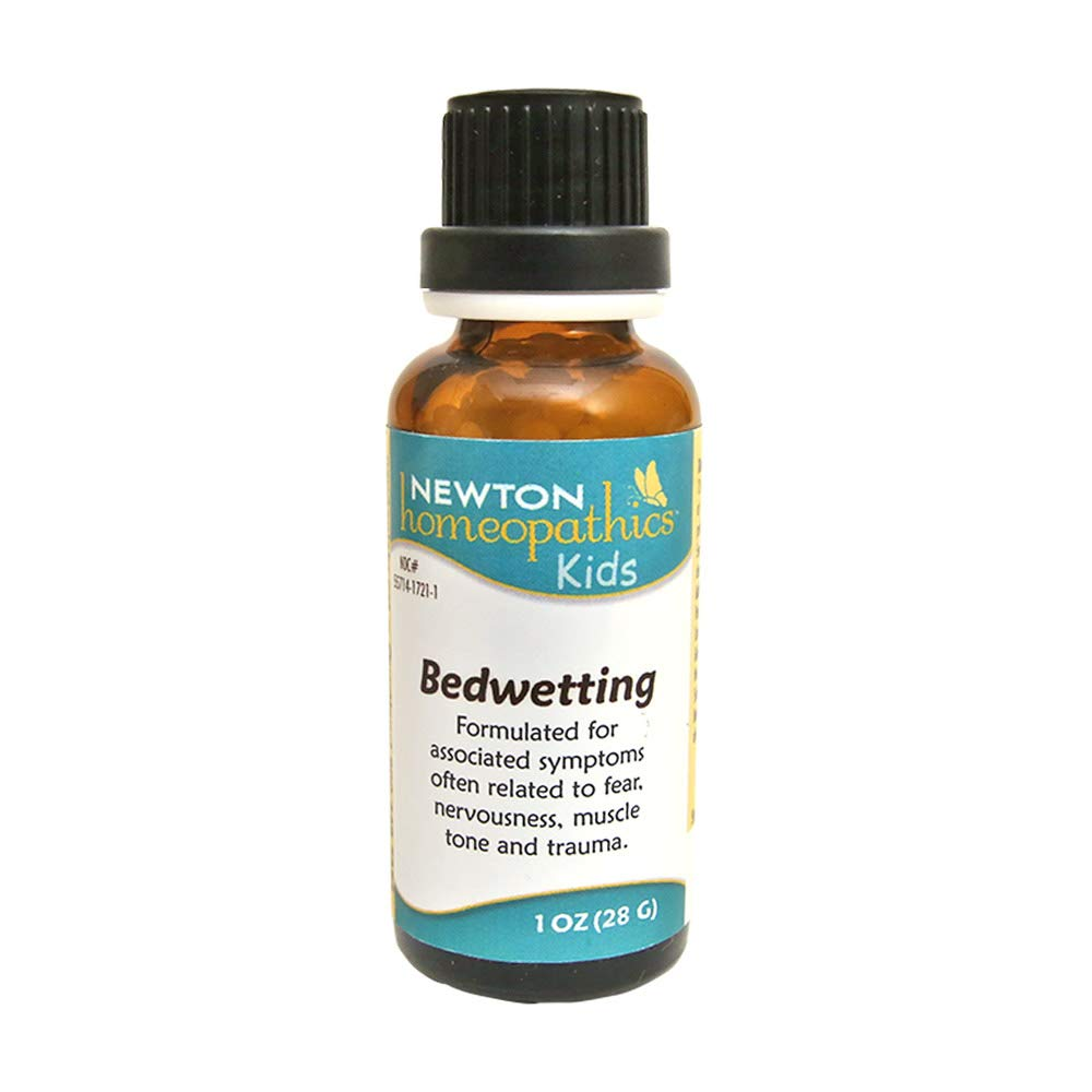 Newton Homeopathics Kids Bedwetting Pellets 1 oz. Bottle, 28 g Homeopathy for Kids Homeopathic Remedy
