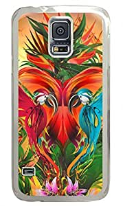 Jungle Abstract Clear Hard Case Cover Skin For Samsung Galaxy S5 I9600