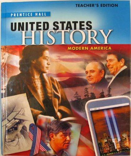 Books : Teacher's Edition, United States History: Modern America