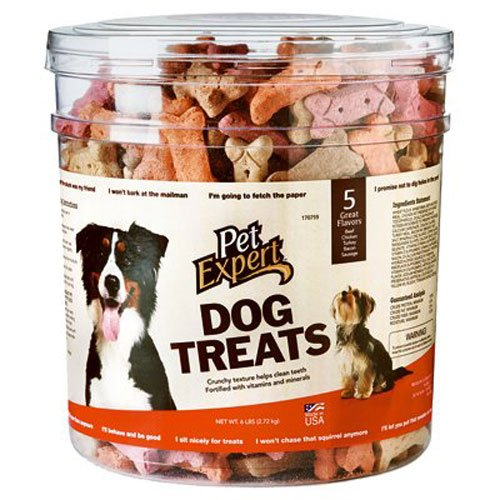 Sunshine Mills Pet Expert, 6 LB, Multi Flavor Baked Dog Biscuit Treats
