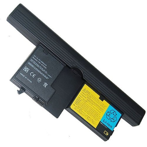 4000mAh 58Wh 14.4V Replacement Li-ion Laptop Battery For IBM Lenovo ThinkPad X60 X61 Tablet PC seriese fits 40Y8318 40Y8314 40Y8318 ASM 42T5209 FRU 42T5204 FRU 42T5206 FRU 42T5208 FRU 42T5251, Best Gadgets