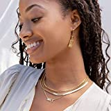 Gold Choker Necklace for Women Girls 14K Gold