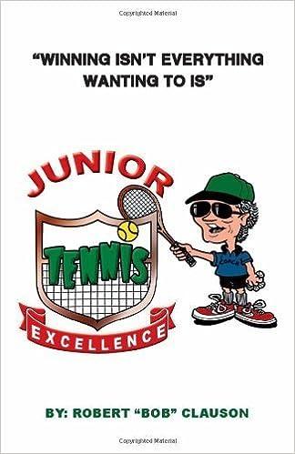 Téléchargement de livre audio Ipod Junior Tennis Excellence by Clauson, Robert (2012) Paperback in French PDF iBook PDB