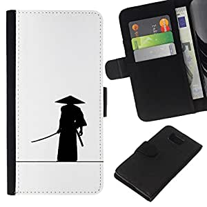 All Phone Most Case / Oferta Especial Cáscara Funda de cuero Monedero Cubierta de proteccion Caso / Wallet Case for Samsung ALPHA G850 // Samurai