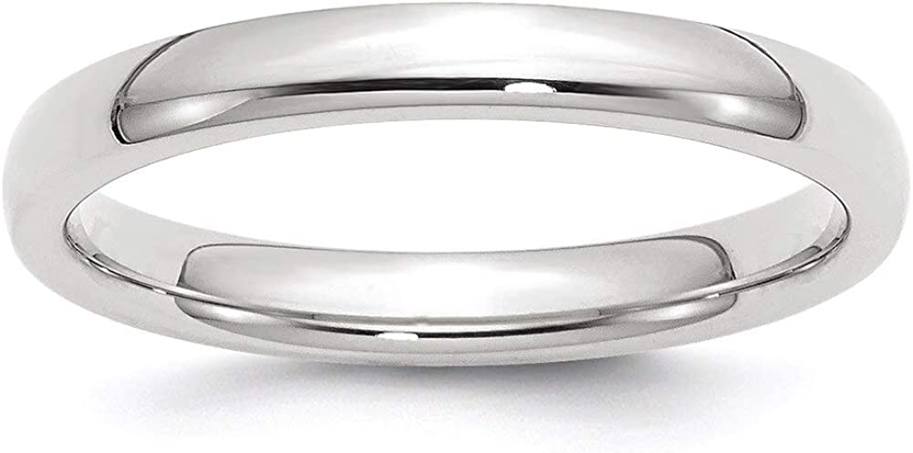 Lex /& Lu 14k 3mm Comfort-Fit Band Ring