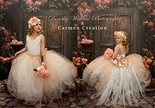Sparkle Queen Flower Girl by Carmen Creation