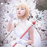 Mermaker mermaid Japanese Cardcaptor Sakura cherry magic wand magic sticks for cosplay Star Sailor Moon Cardcaptor Sakura Crown Cartoon Magic Wand