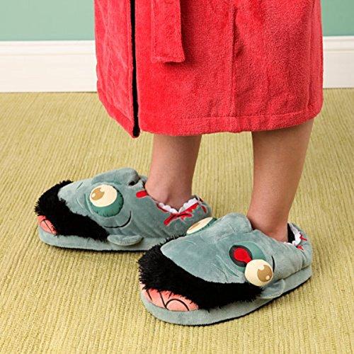 Zapatillas de LEORX libre Zombie 1 par tamaño peluche g4dxa7Axqw