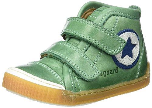 Bisgaard Klettschuhe - Zapatilla alta Unisex niños Grün (1001 Green)