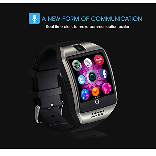 Shanglite Smart Watch Q18 Passometer With Touch Screen Camera Support Tf Card Bluetooth Smartwatch For Android Ios Phone