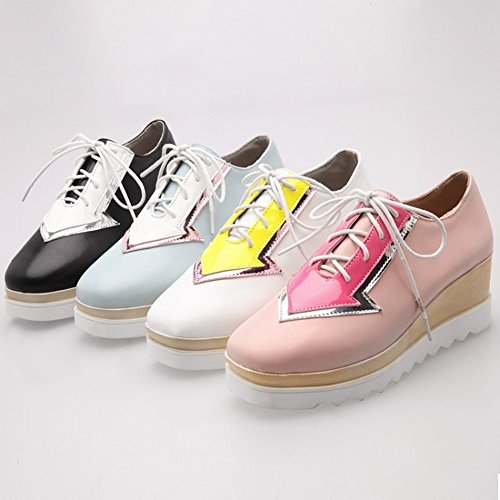 Waterproof Shallow with Table Shoes the 35 5 Color EUR Fight Fashion Shoes Mouth Women's Boots white HqrHBdwP5