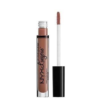 a9f5ad8d1d8ea Image Unavailable. Image not available for. Color: NYX PROFESSIONAL MAKEUP  Lip Lingerie Matte Liquid Lipstick, Bedtime Flirt
