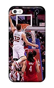 Diy Yourself Awesome Design Los Angeles Clippers Basketball Nba Hard i7SmuIWSx5t case cover For Iphone 5/5s