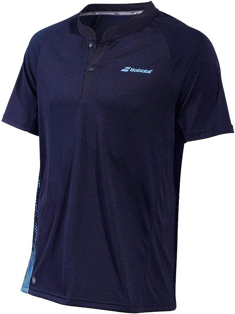 Babolat Mens Performance Crew Neck Short Sleeve Tennis T-Shirt