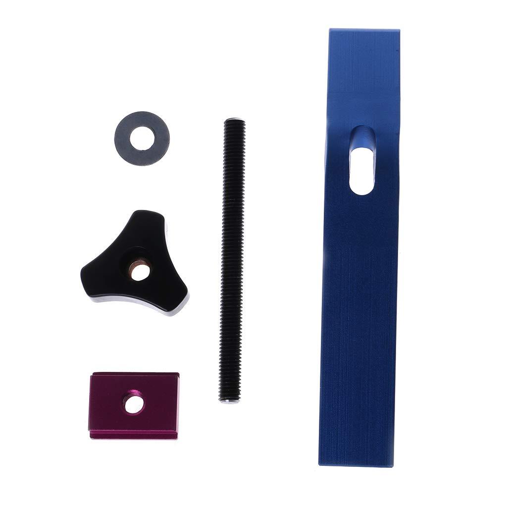 VvXx Lot de pinces de serrage en m/étal /à action rapide pour T-Slot Outils de travail du bois