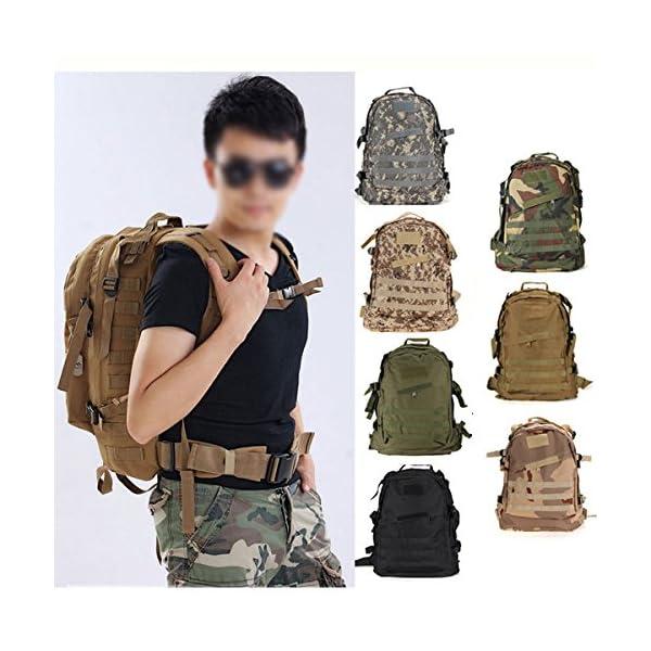 840e956df0 ... militare tattico Zaino di campeggio d'escursione Trekking Bag – Nero.  🔍. Valigeria ...