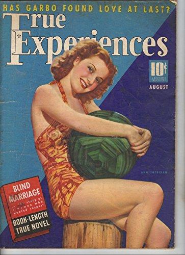(TRUE EXPERIENCES MAGAZINE AUGUST 1938)