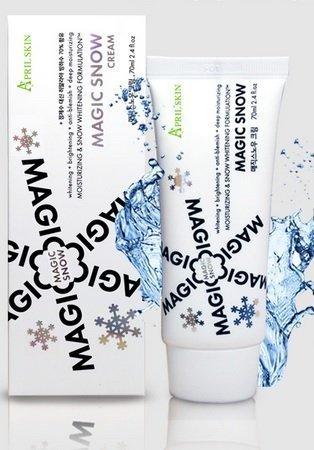 Aprilskin Magic Snow Cream 70ml - Korea Imported