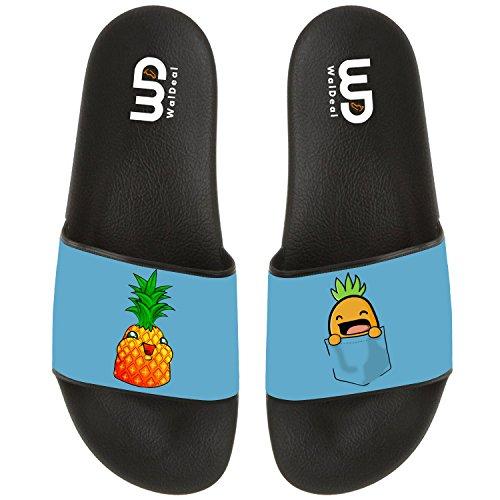 Pineapple in your Pocket Slide Sandal For Men's Women Soft Comfortable Non-slip Bathroom Shower Household Beach Slippers Sandal