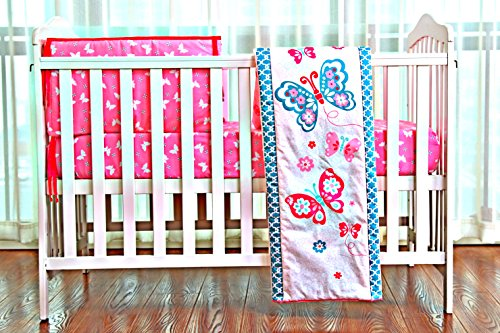 Pink Butterfly newborn Bedding Crib Bedding Sets