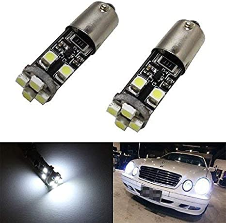 2x Mercedes E-Class W210 Genuine Osram Ultra Life Side Light Parking Lamp Bulbs