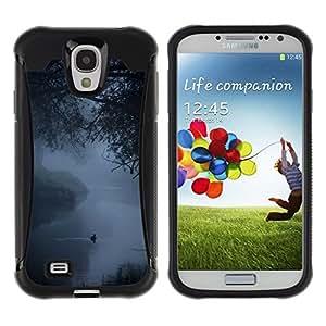 Suave TPU GEL Carcasa Funda Silicona Blando Estuche Caso de protección (para) Samsung Galaxy S4 IV I9500 / CECELL Phone case / / Fog Mist Lake Duck Nature Spring /