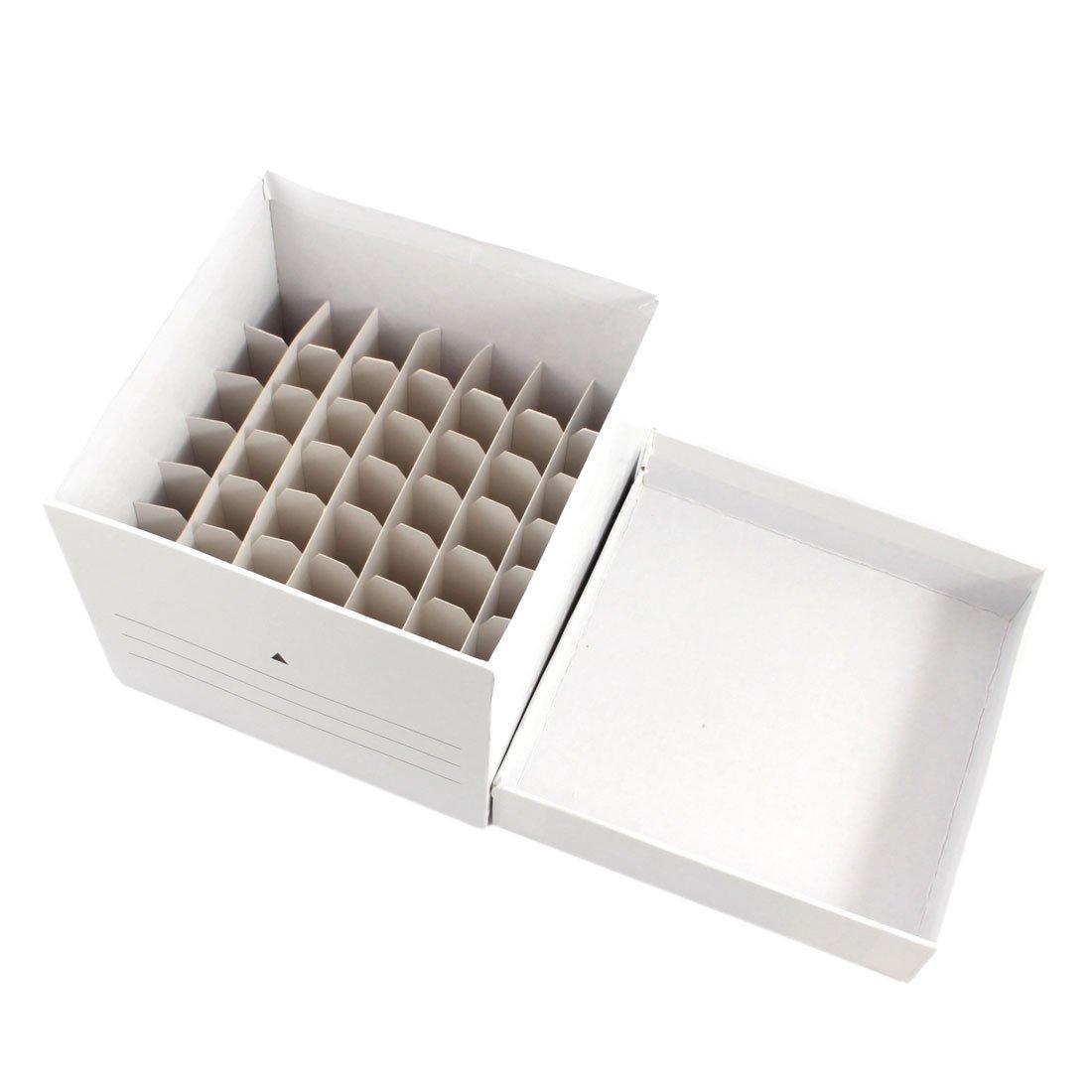 Lab 10ml-15ml Storage Paper Cube 49 Positions Centrifuge Tube Box