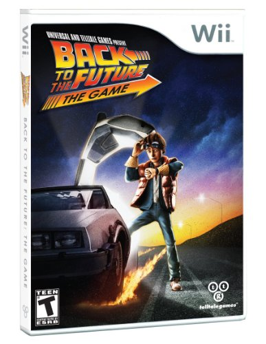 Back to the Future- The Game – Nintendo Wii