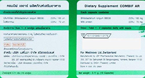 Amazon.com: combif Ar Probiótico Suplemento dietético ...