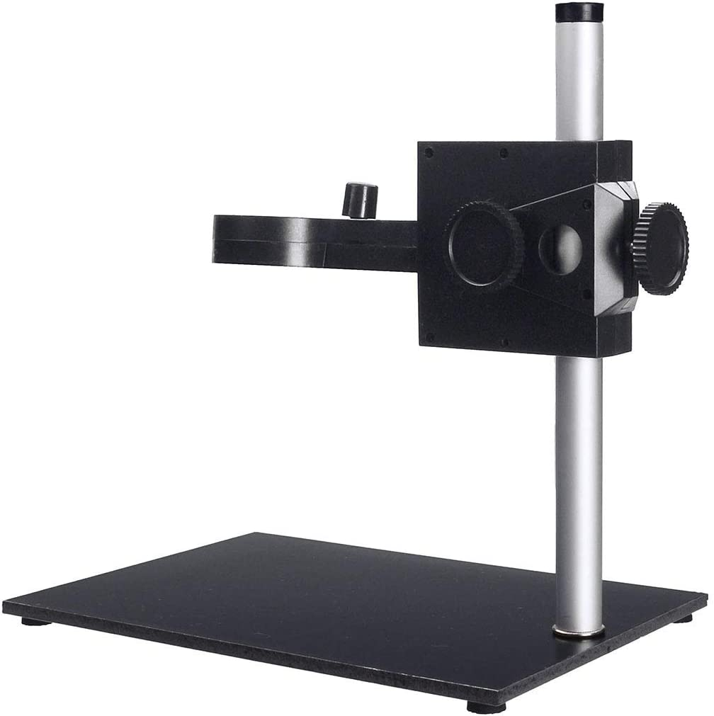 XUXUWA High-Definition Pro Digital Microscope Magnifier Holder Stand 180Mm Height Adjustable Focus 33Mm