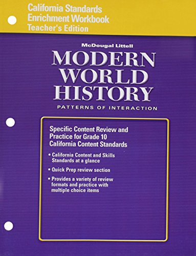 World-History-Patterns-of-Interaction-California-Standards-Enrichment-Workbook-Teacher-Edition-Modern-World-History