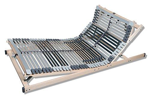 7-Zonen-Lattenrost-MediBalance-44-Federholzleisten-Mittelgurt-verstellbarer-Sitz-und-Schlafkomfortrahmen