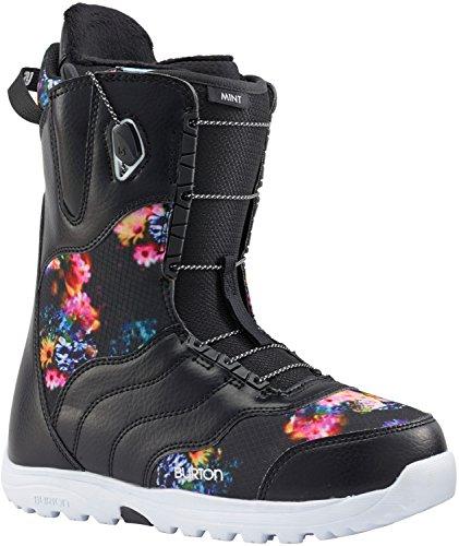 All Mountain Womens Snowboard Boots (Burton Mint Snowboard Boots Womens Sz 7)