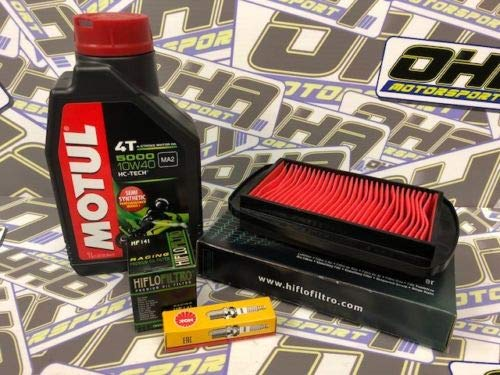 OHA Service Kit for Yamaha YZF-R125 2015-2018 - Motul Oil, Oil & Air Filter NGK Plug OHA Motorsport