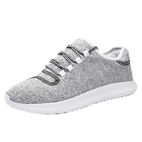 Srenket Mens Casual Athletic Sneakers Mesh Running Shoes Lightweight Tennis Footwear for Men Walking Trail Workout