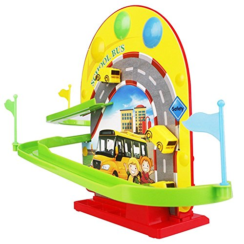 Bovillo Slide Rail Creative Light Music Electric Bus Children's - Google Macy's