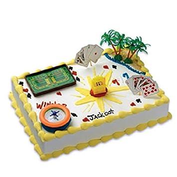 Oasis Supply Company Cake Decorating Kit Gaming Casino Birthday