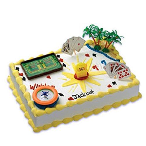- Oasis Supply Company Cake Decorating Kit, Gaming Casino Birthday