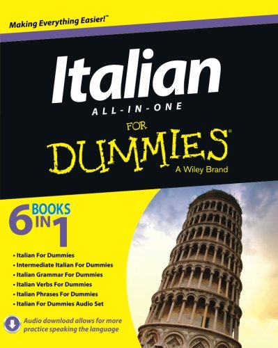 Italian All-in-One For Dummies (Italian For Beginners Workbook)