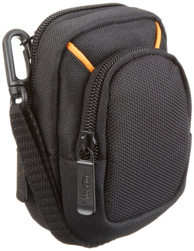AmazonBasics Medium Point and Shoot Camera Case - 5 x 3 x 2 Inches, Black ()