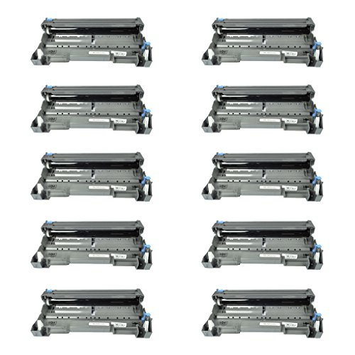 (NineLeaf 10 Pack New Replacement for Brother DR620 DR-620 Drum Unit used with Brother HL-5340D HL-5350DN HL-5350DNLT HL-5370DW HL-5370DWT HL-5380DN)