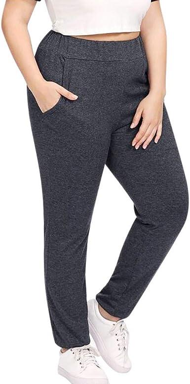 Overdose Pantalones Para Mujer De Otono Invierno Pantalon Jogger Trote Comodo Talla Grande Pantalones De Chandal Mujer Deportivos Amazon Es Ropa Y Accesorios