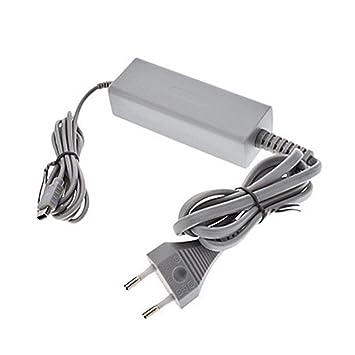 fgyhty Reemplazo para Wii U Consola 110-240 DC 15V 5A ...
