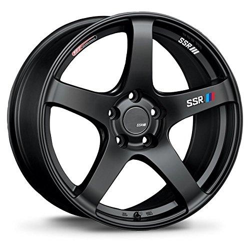SSR GTV01 Flat Black (18x8.5) +40 (5x114.3)
